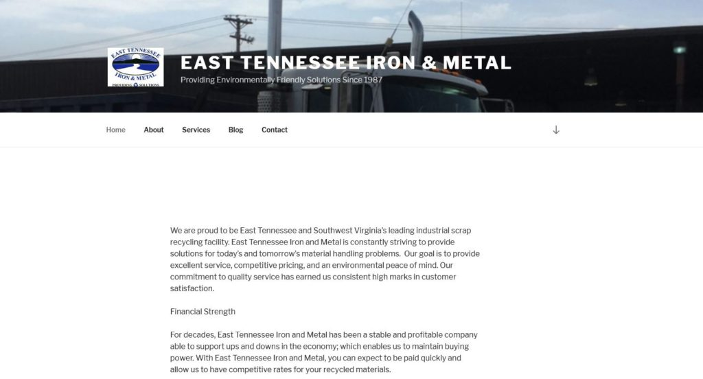East Tennessee Iron and Metal